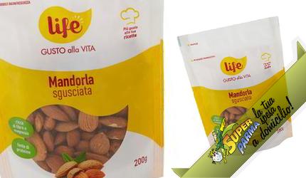 "MANDORLE ""Sgusciate"" in busta 200 g – Life"