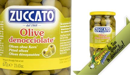 OLIVE VERDI denocciolate 670 g – Zuccato
