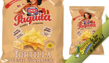 """TORTILLA """"Paquita"""" FORMAGGIO 200 g – Pata"""