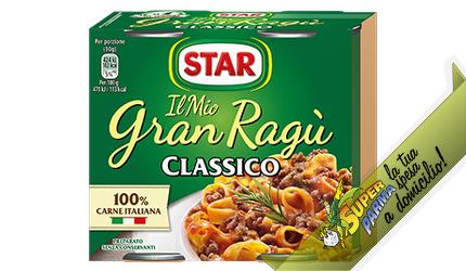 """RAGU' DI CARNE """"Granragù"""" CLASSICO 180 g x 2 – Star"""