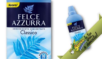 AMMORBIDENTE CONCENTRATO 41 lavaggi 1025 ml – Felce Azzurra
