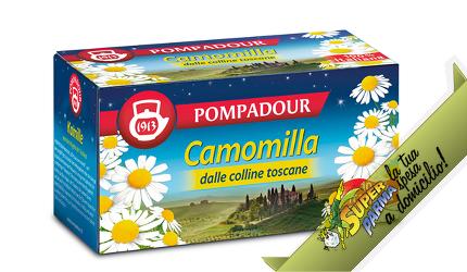 CAMOMILLA SETACCIATA 18 filtri 30 g – Pompadour