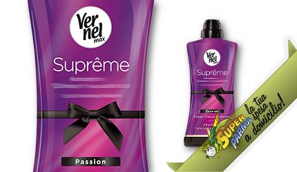 """AMMORBIDENTE """"Supreme"""" prof. PASSION 600 ml – Vernel"""