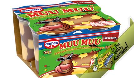 "MUU MUU ""Cioccolato"" 4 x 125 g – Cameo°"