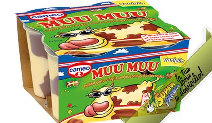 "MUU MUU ""Vaniglia"" 4 x 125 g – Cameo°"