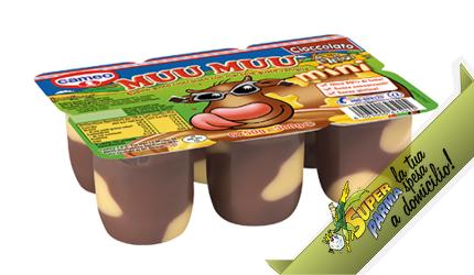 "MUU MUU ""Cioccolato"" MINI 6 x 50 g – Cameo°"