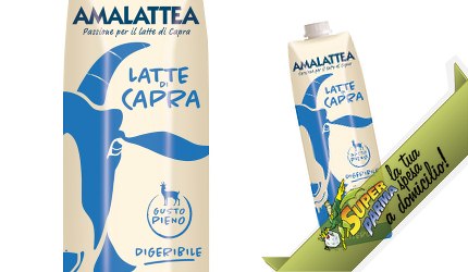 "LATTE di CAPRA ""Intero"" uht 500 ml – Amalattea"