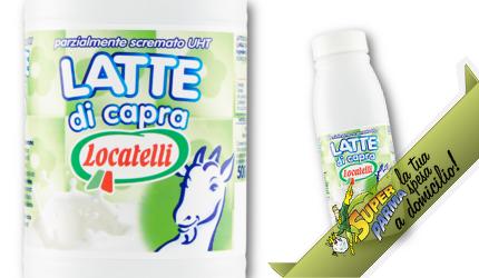"LATTE di CAPRA ""Parzialmente Scremato"" uht 500 ml – Locatelli"