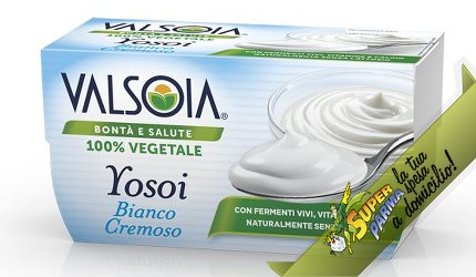 "YOSOI ""Classico BIANCO"" 2 x 125 g – Valsoia°"