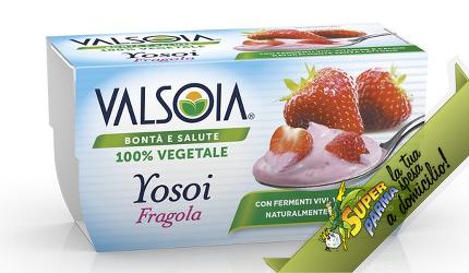 """YOSOI """"Fragola"""" 2 x 125 g – Valsoia°"""