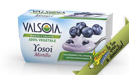 """YOSOI """"Mirtillo"""" 2 x 125 g – Valsoia°"""
